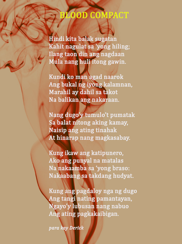 Poem by: M. Protacio-De Guzman Photo courtesy of Shutterstock