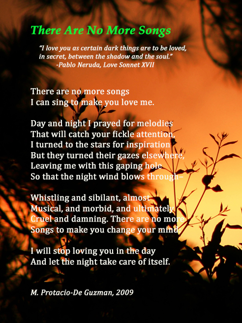Poem by M. Protacio-De Guzman Photo courtesy of Shutterstock