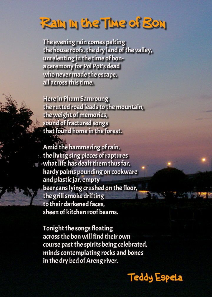 Poem by Teddy Espela Photo by Mike De Guzman